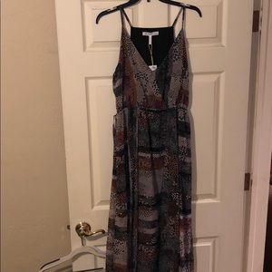 Multicolored BCBG maxi dress